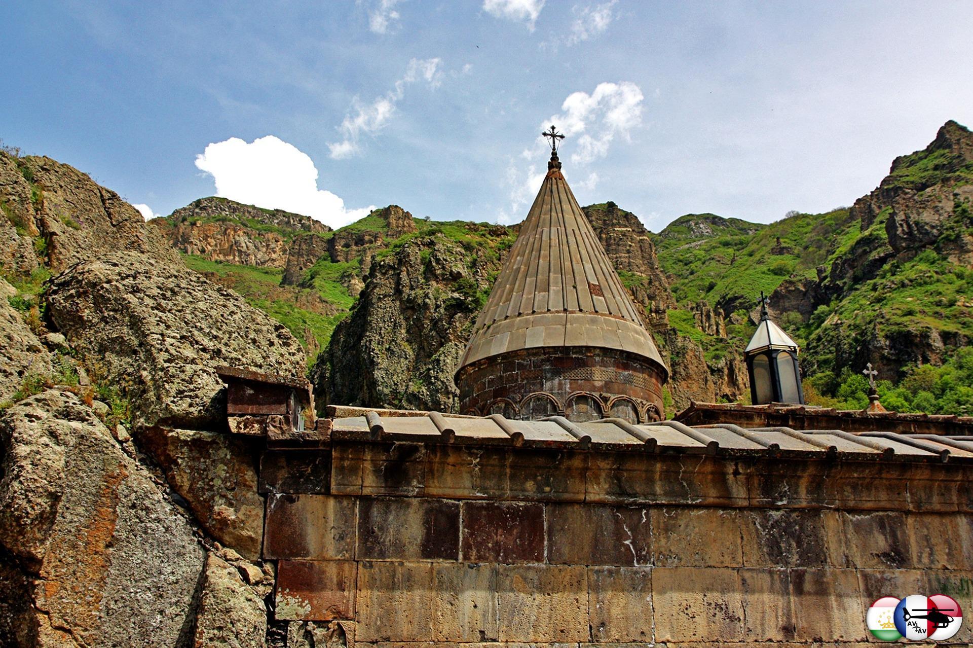 Армения – любители экстремального туризма