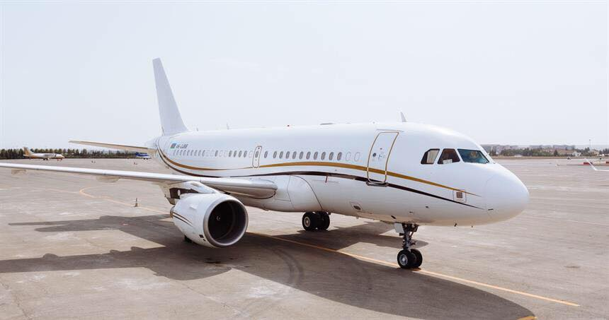 снять чартерный самолет в Армении
