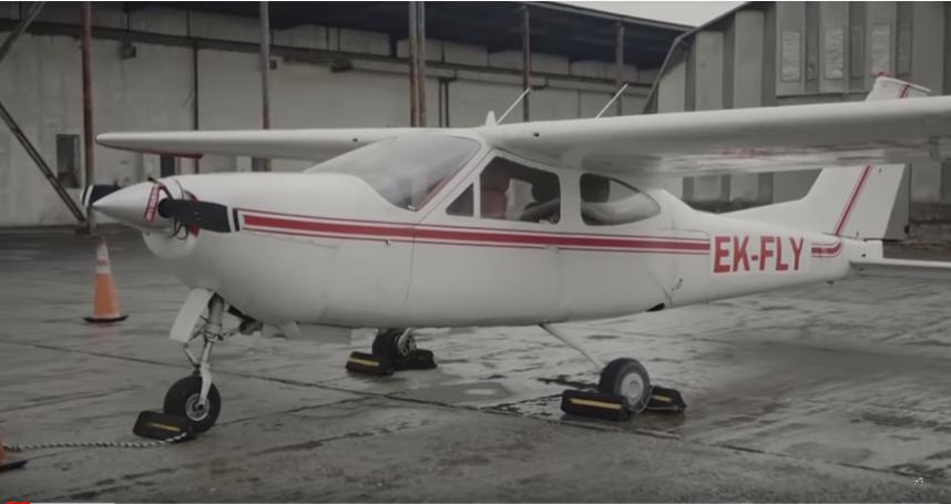 Մասնավոր ավիացիայի արշալույսը Հայաստանում. Cessna 177 RG
